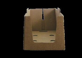 Caisse carton prêt à vendre formé avec Formeuse Barquetteuse MIBOX