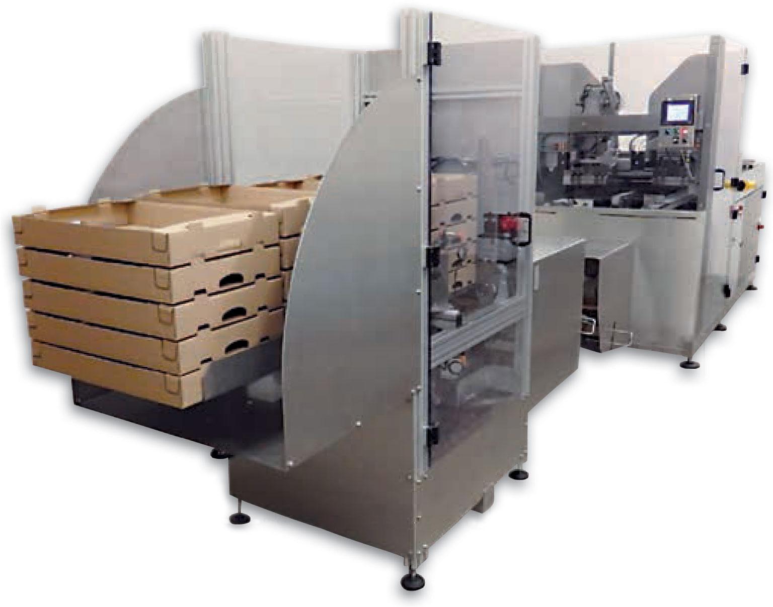 Formeuse carton - Barquetteuse carton: MIBOX fabricant Français