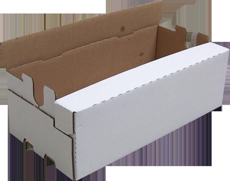 kartonnen doos met losse randen