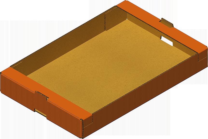 Caisse Trottoir Ou Barquette Trottoir Obtenue Avec Formeuse Barquetteuse MIBOX